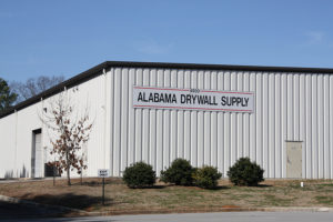 Exterior of Alabama Drywall Supply - Hunstville, Alabama Building Materials