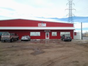Exterior of Building Specialties Cheyenne, Wyoming Construction Materials