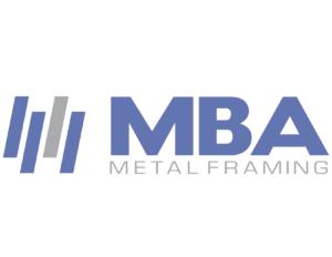 MBA Metal Framing - Logo