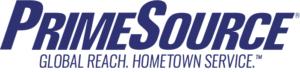 PrimeSource : Global Reach. Hometown Service - Logo
