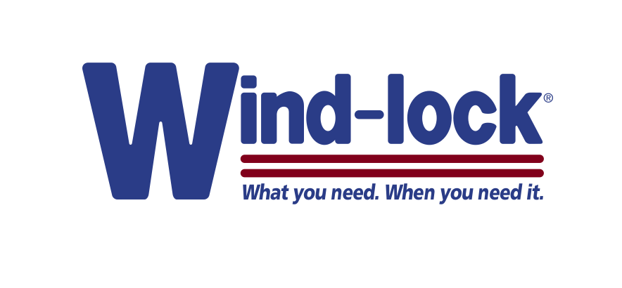 Wind-lock Construction Products logo - What you need. When you need it.