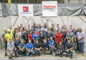 L&W Supply and National Gypsum teams