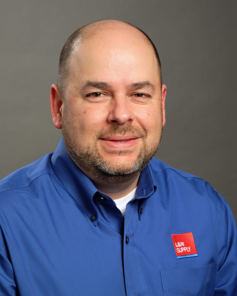 Kevin Lucero L&W Supply Branch Manager