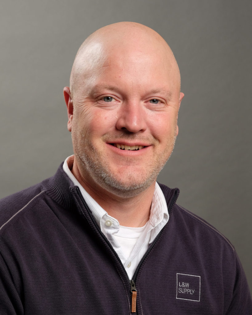 L&W Supply Olathe Branch Manager Mike Borgelt