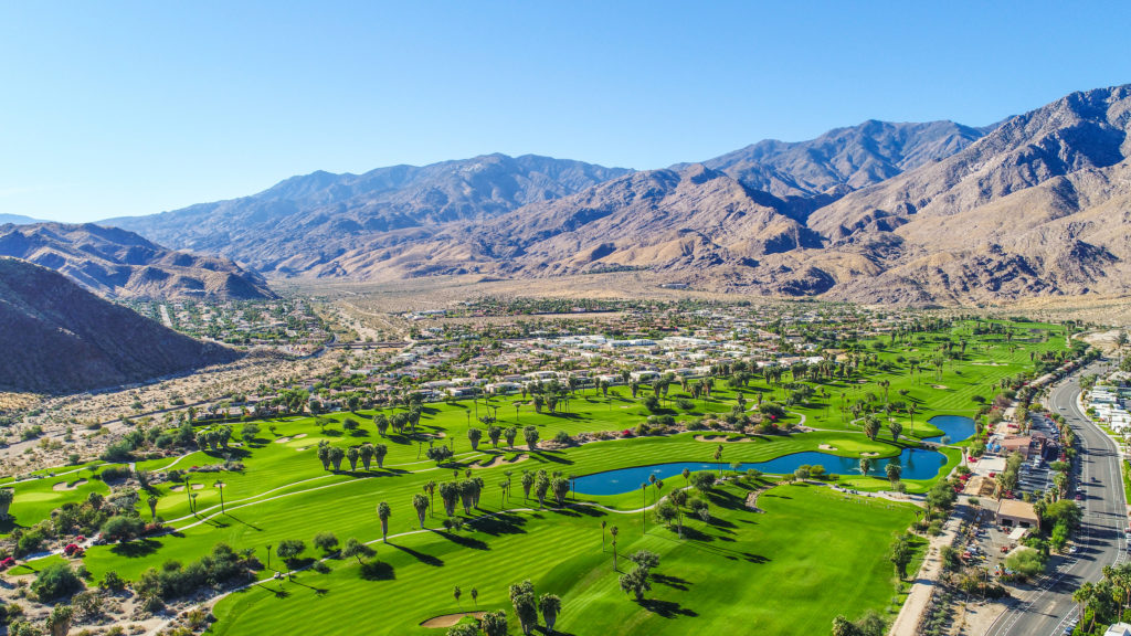 Palm Springs, CA, home to L&W Supply's new branch.
